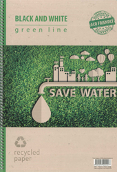 Тетрадка green line - SAVE WATER
